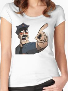 Axe Cop Women's Fitted Scoop T-Shirt