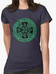 Celtic Nature Womens Fitted T-Shirt