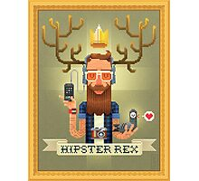 HIPSTER REX Photographic Print