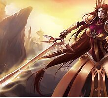 Leona League of Legends by LexyLady