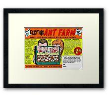 Ant Farm Comic Book Ad Framed Print