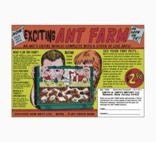 Ant Farm Comic Book Ad Kids Tee