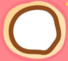 Yummy Pink Donut Sticker
