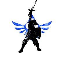 Skyward Stance - Blue Photographic Print