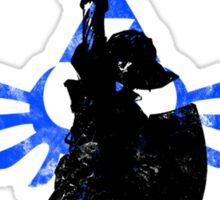 Skyward Stance - Blue Sticker