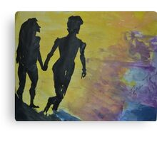 Going to the River with you Canvas Print