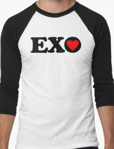 ♥♫I Love EXO Fabulous K-Pop Clothes & Stickers♪♥ Men's Baseball ¾ T-Shirt