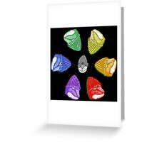 Reptile Rainbow Greeting Card