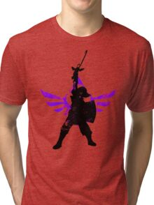Skyward Stance - Purple Tri-blend T-Shirt
