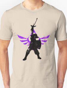 Skyward Stance - Purple Unisex T-Shirt