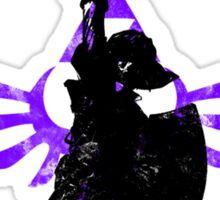 Skyward Stance - Purple Sticker