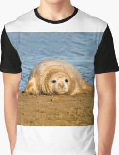 Almost Ready For My First Swim. Graphic T-Shirt