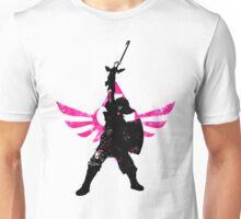 Skyward Stance - Pink Unisex T-Shirt