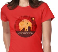 The Children of Time - Circular Womens Fitted T-Shirt