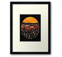 Beneath Framed Print