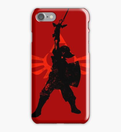 Skyward Stance - Red iPhone Case/Skin