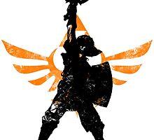 Skyward Stance - Orange by LauryQuinn