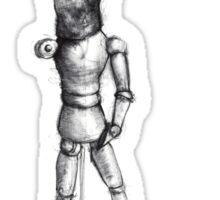sketch doll Sticker