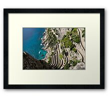 What It Takes to Get to the Beach Sometimes... Framed Print