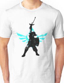 Skyward Stance - Aqua Unisex T-Shirt