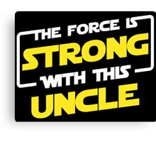 Force Father Canvas Print