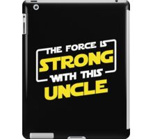 Force Father iPad Case/Skin