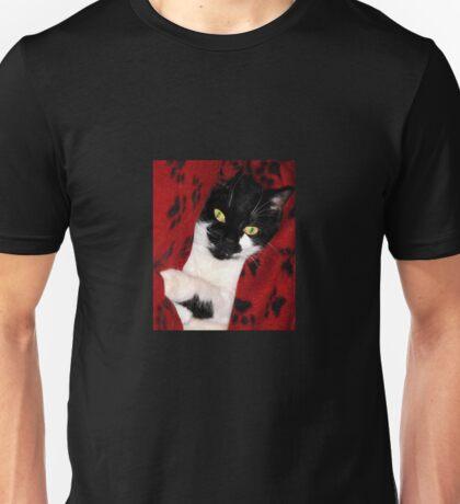 Black & White Cat Unisex T-Shirt