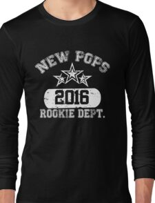 New Pops 2016 Rookie Dept Long Sleeve T-Shirt