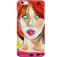 Glassheart (Red/Yellow) iPhone Case/Skin