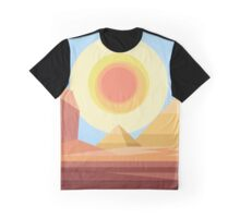 Geometric Desert Graphic T-Shirt