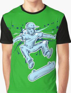 skater hand draw  Graphic T-Shirt