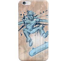 skater hand draw  iPhone Case/Skin