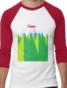 Climb Men's Baseball ¾ T-Shirt