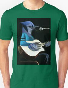 **¨*•MY BLUE JAY PLAYING GUITAR AND SINGING ME A SONG PICTURE /CARD>> ALSO ANIMATED HIM **¨*• T-Shirt