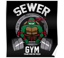 Sewer Gym Poster