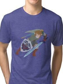 The Legend of Zelda - Twilight Princess (Simple) Tri-blend T-Shirt