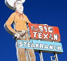 The Big Texan, Amarillo, Tx by CliveHarris