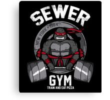 Sewer Gym 2.0 Canvas Print
