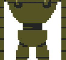 8-bit Laputa robot <3  Sticker