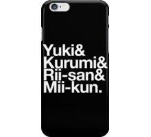 School Living Club x Helvetica iPhone Case/Skin