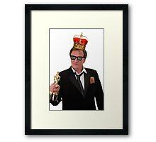 Quentin Tarantino Thug King Framed Print