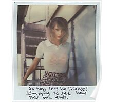 blank space taylor swift Poster