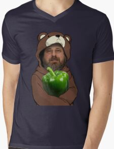 Richard Stallman GIMP Mens V-Neck T-Shirt