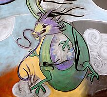 Dragon (from Chalk Meditation #11) - December 2006 by Infinite Path  Creations