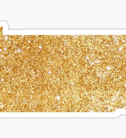 gold pa Sticker
