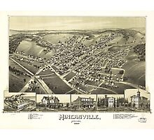 Minersville, Pennsylvania by T.M. Fowler (1889) Photographic Print