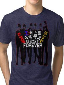 ♥♫I Love B2ST Forever Splendiferous K-Pop Clothes & Stickers♪♥ Tri-blend T-Shirt