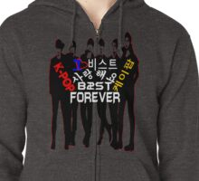 ♥♫I Love B2ST Forever Splendiferous K-Pop Clothes & Stickers♪♥ Zipped Hoodie