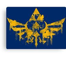 Skyward Symbol - Blue BG Canvas Print