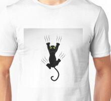 Scratching cat Unisex T-Shirt